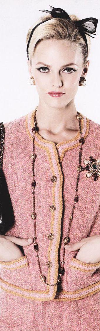 Chanel Vintage - Timeless!                                                                                                                                                                                 More