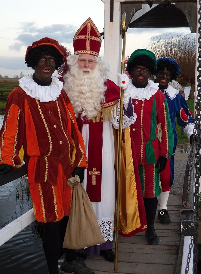 Sinterklaas en zijn Pieten 2010 in Zaanse Schans