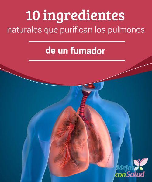 10 ingredientes naturales que purifican los pulmones de un fumador Los pulmones desempeñan un papel fundamental en nuestra vida ya que son los encargados de proporcionarnos el oxígeno necesario para vivir y, a su vez, expulsar el dióxido de carbono a través de la espiración.