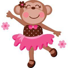 Ballerina Dance Monkey Youth Shirts | INKtastic