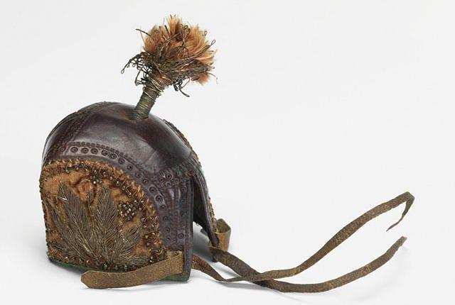 Show & Tell: 17th-Century Falcon's Hood | Mental Floss