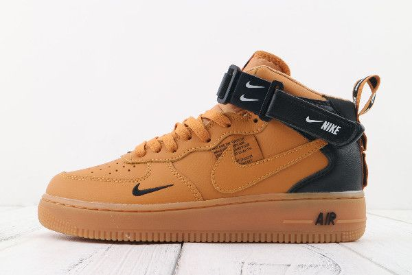 Nike Air Force 1 AF1  07 Mid LV8 Wheat Black-White 804609-107  5f9da0cb4174d