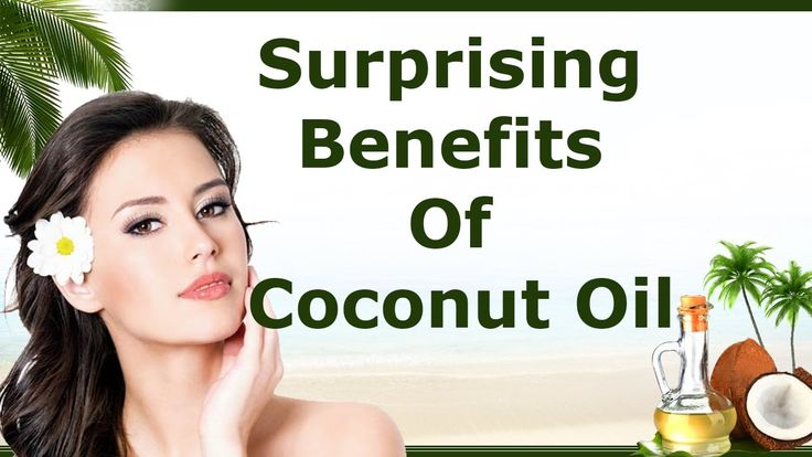 Surprising Benefits Of Coconut Oil  facebook.com/yourhealthtree