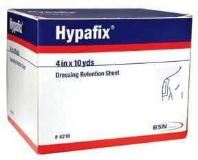 "Hypafix Dressing Retention Tape - 4"" x 30' by Smith & Nephew. Save 31 Off!. $18.65. Product Numbers: 4209, 421x Product Description Hypafix Non-Woven Dressing Retention Tape is an adhesive, non-woven fabric for dressing retention. Products in this Series"