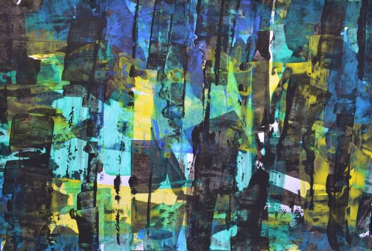 "Saatchi Art Artist Angela Alissa Asatryan; Painting, ""Caos calmo"" #art"