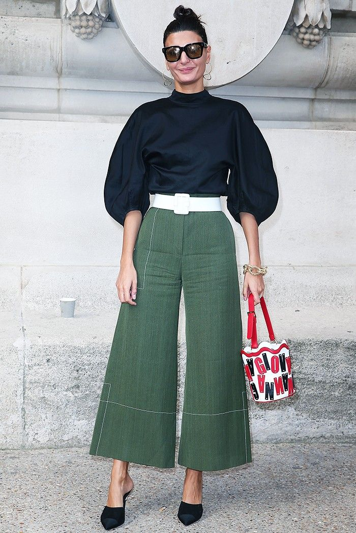 The Best Celebrity Outfits From Paris Fashion Week via @WhoWhatWear