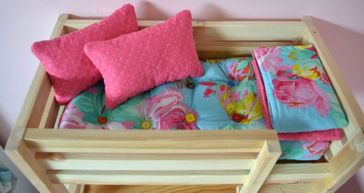 """Ana White   Build a 18"""" Doll Mattress Sewing Tutorial   Free and Easy DIY Project and Furniture Plans"""