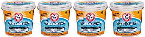 Arm & Hammer Clear Balance WeKZBQ Pool Maintenance Tablets, 16 Count (Pack of 4)