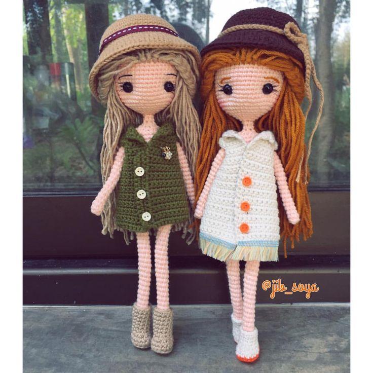 "166 Beğenme, 2 Yorum - Instagram'da Jib Soya (@jib_soya): ""#handmade #amigurumi #cute #crochet #gift #girl #jibsoya"""