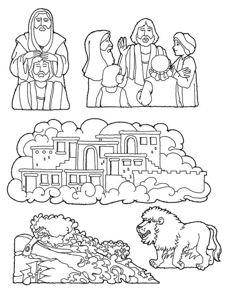 City Of Enoch Coloring Page