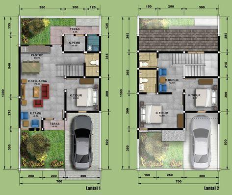 sketsa dan denah rumah minimalis type 90 - rumah minimalis