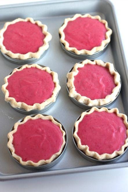 Cranberry Lemon Pies