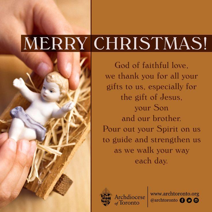 Merry Christmas! Happy Birthday, Jesus! #christmas #catholic ...