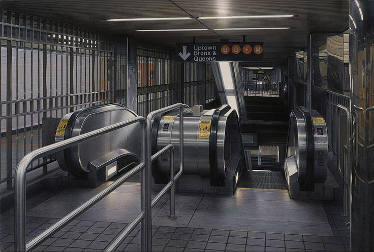 Subway by Hisaya Taira