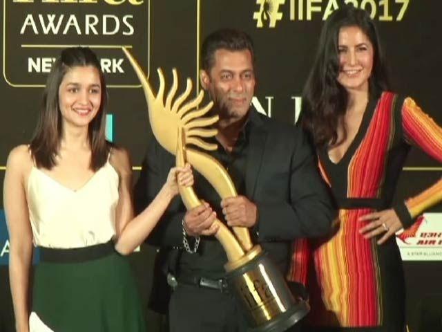 Salman, Katrina and Alia Promote IIFA Awards