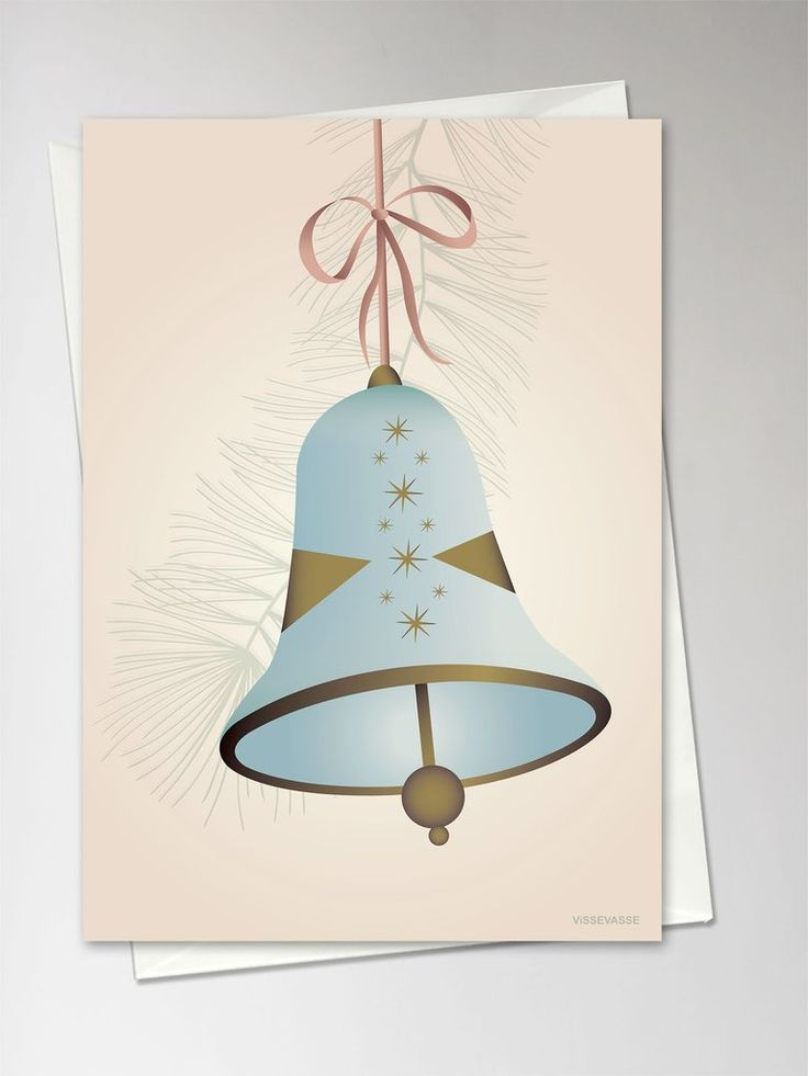 CHRISTMAS BELL blue