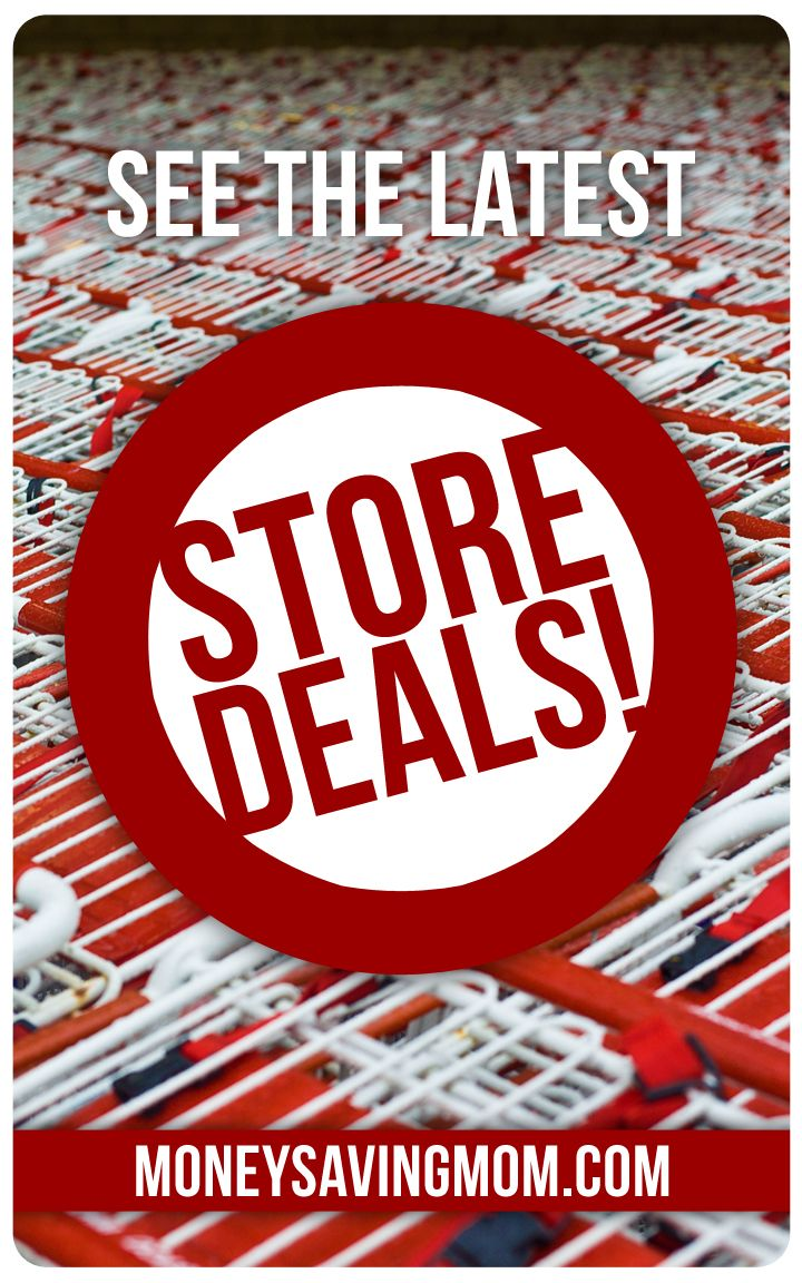 Looking for deals at your local stores? Check out the Money Saving Mom® Store Deals site to view the latest deals and coupon matchups.