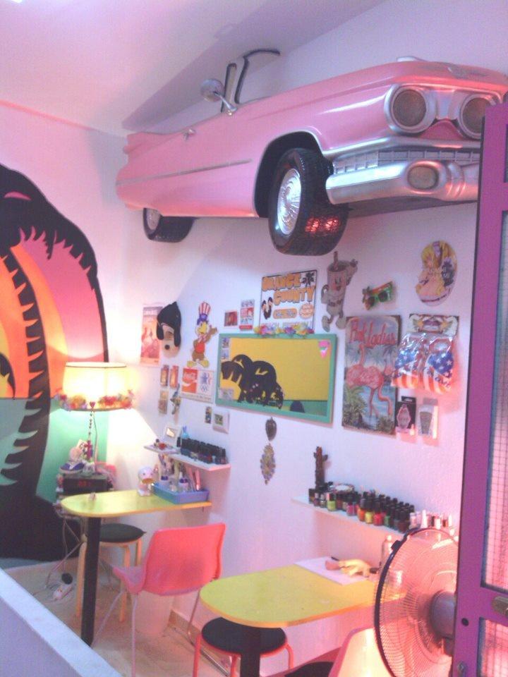 Ghetto nailz shop madrid calle loreto y chicote 4 for Calle loreto prado y enrique chicote