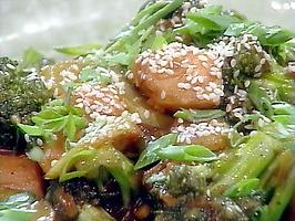 Wok-Tossed Asparagus in Black Bean Sauce #recipe