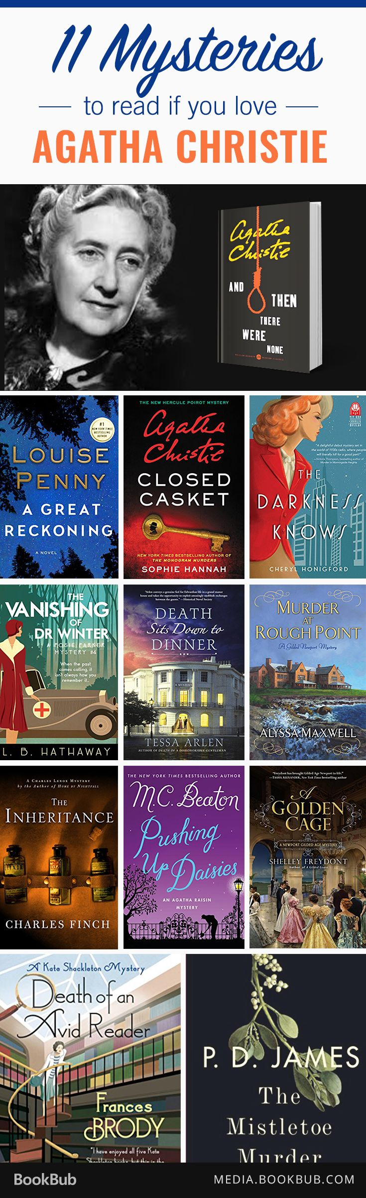 11 Mysteries To Read If You Love Agatha Christie