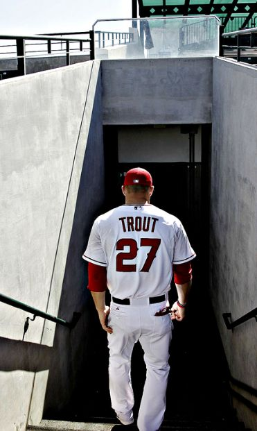 Mike Trout... thank the baseball Gods for this guy!