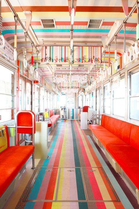 ♥ ♥ ♥ Dekorella Shop http://dekorellashop.hu/ A bus decorated with MT tape