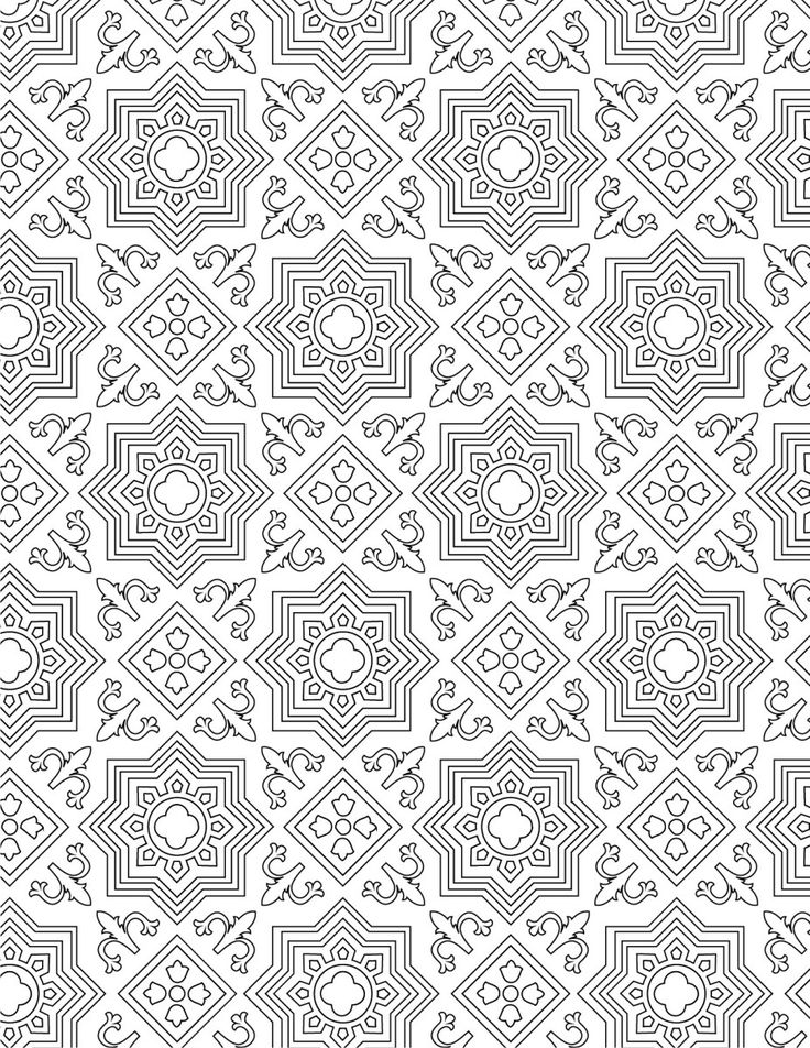 35 best motif de coloriage difficile pour adulte difficult pattern adult coloring page images - Coloriage pour adulte gratuit ...