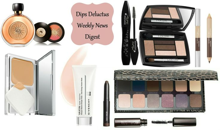 Weekly news on beauty launches including anniversary limited editions from Gurlain and Lancome, plus Clinique, Laura Mercier and Givenchy.
