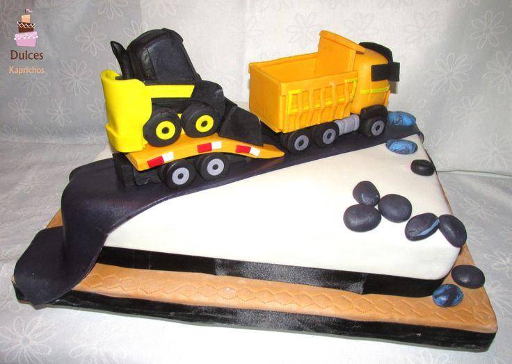 Torta Camión #TortaCamion #TortsaDecoradas