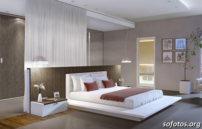 Quarto de casal estilo moderno quarto de casal for Estilo moderno