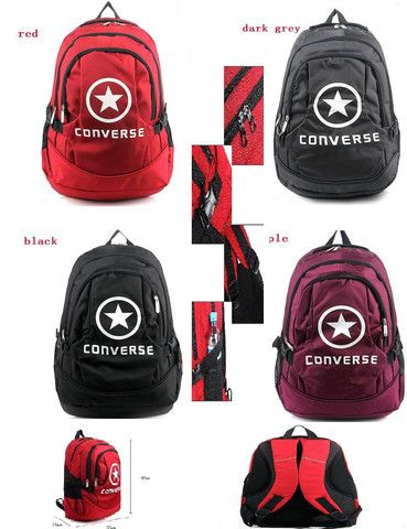 UNISEX CONVERSE BACKPACK SCHOOL BAG  HIKING BAG CANVAS (scheduled via http://www.tailwindapp.com?utm_source=pinterest&utm_medium=twpin&utm_content=post12414928&utm_campaign=scheduler_attribution)