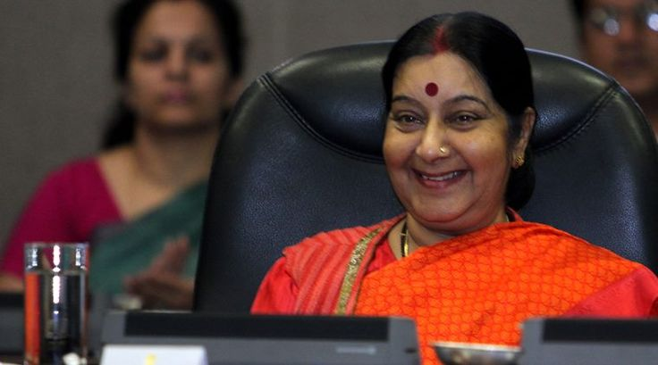 Sushma Swaraj's hilariously honest response on Twitter to a man who wanted his refrigerator fixed