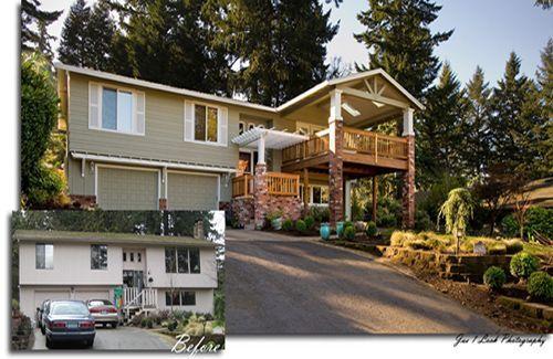 Split level remodel before and after split level homes for Split level remodel before and after
