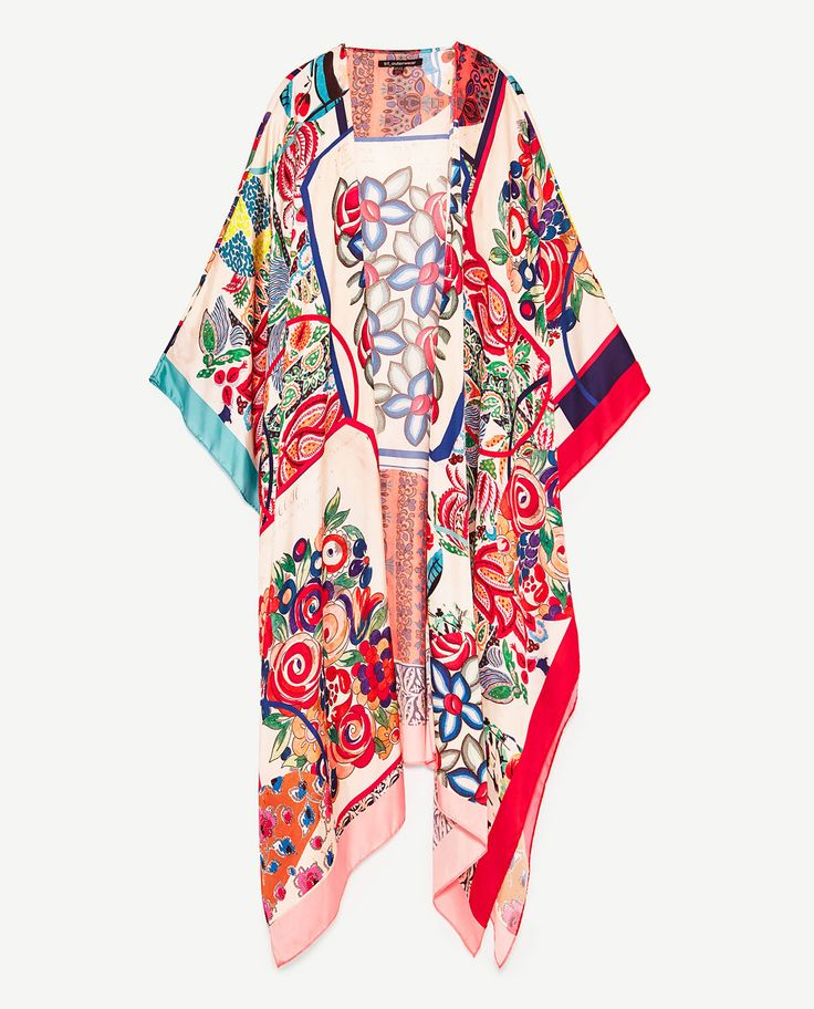 Image 8 of KIMONO SHAWL from Zara