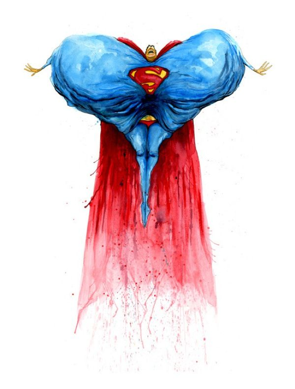 """Monster Pop Icons"": Alex Pardee, Pop Culture, Pard Art, Superman Balloon, Superman Monsters Alex Pard, Big Heart, Culture Icons, Artists Alex, Alex O'Loughlin"