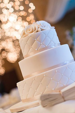 White diamond: An elegant wedding with a hint of rustic charm...
