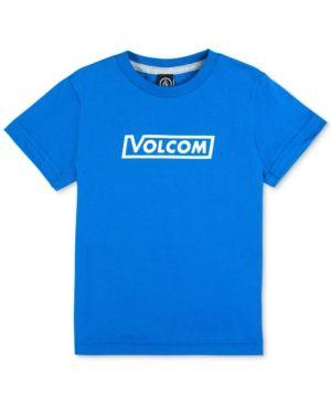 Volcom Graphic-Print Cotton T-Shirt, Little Boys (4-7) - Blue 7