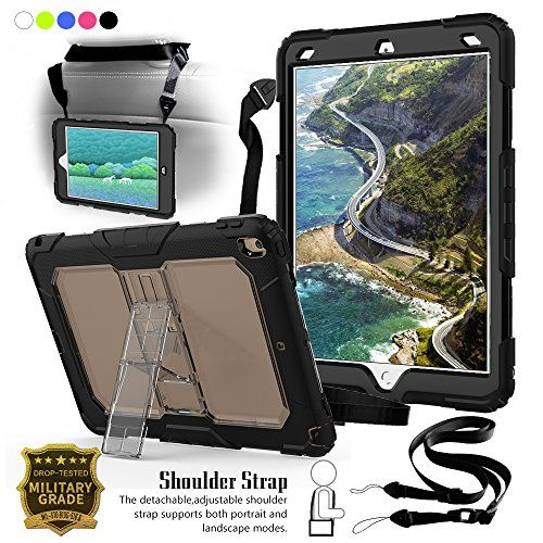 best authentic c0c5e ad9f9 New iPad Pro 10.5 Case, [Heavy Duty] 3-Layer Dropproof Shockproof ...
