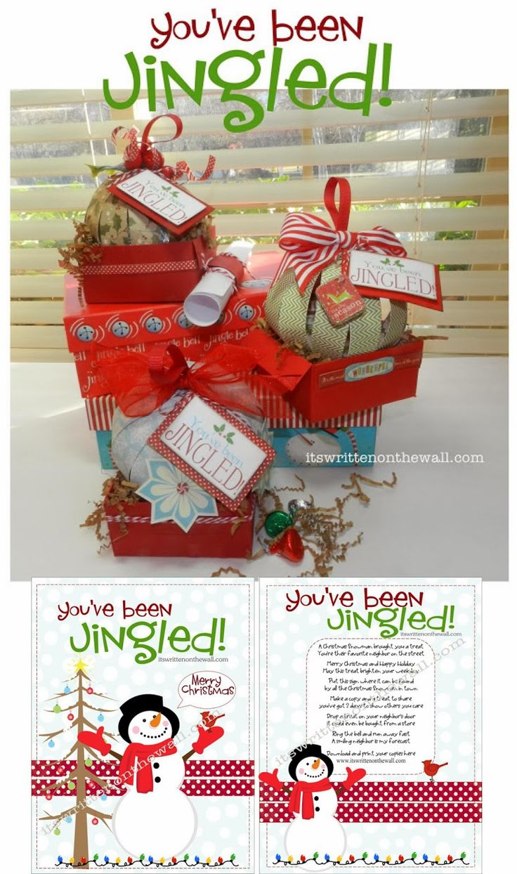 286 Neighbor Christmas Gift Ideas-It's All Here! plus You've Been Jingled - Christmas Neighbor Gift ideas