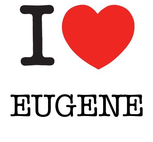 I Heart Eugene #love #heart
