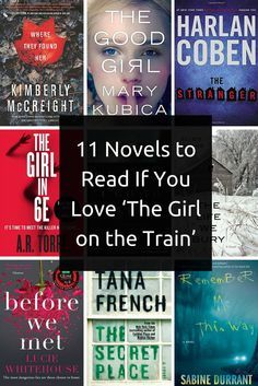 Recommended books if you like The Girl On The Train