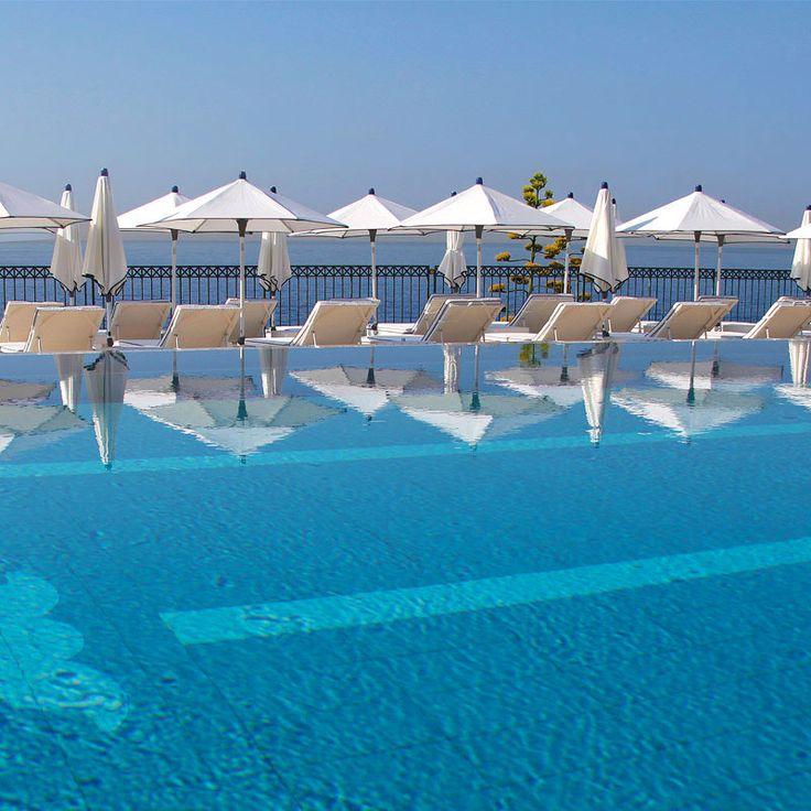 Delightful Infinity Pool Overlooking The Mediterranean   Saint Jean Cap Ferrat, France