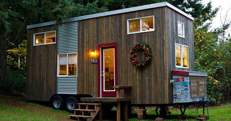 Miren dentro de este sueño: Mujer construye su casa diminuta al crecer sus hijos