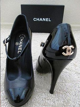 Kristen Stewart and Her Chanel Vintage T-Strap Shoes