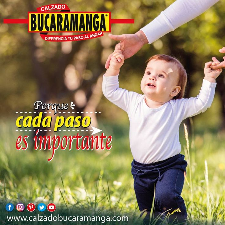 Porque para Calzado Bucaramanga cada paso es importante...
