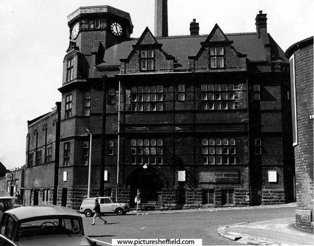 Sutherland Road Swimming Baths Sheffield junction of Earsham Street