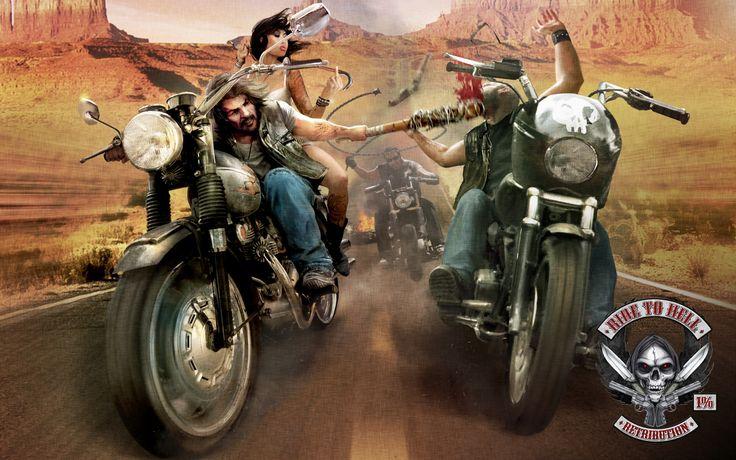 Widescreen Ride to Hell: Retribution wallpaper, 1920x1200 (536 kB)