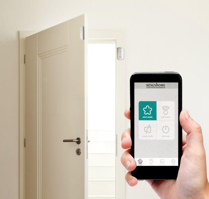 De HAM212 is voorzien van een deursensor. Als een deur of venster wordt geopend of gebroken, dan wordt een bericht naar uw smartphone of tablet verstuurd via de wifi-verbinding. Dankzij de gratis app voor Android en iOS kunt u de status controleren. Plug-&-play-configuratie via de gratis clouddienst. De batterij verbruikt enkel energie wanneer een alarm geactiveerd wordt.