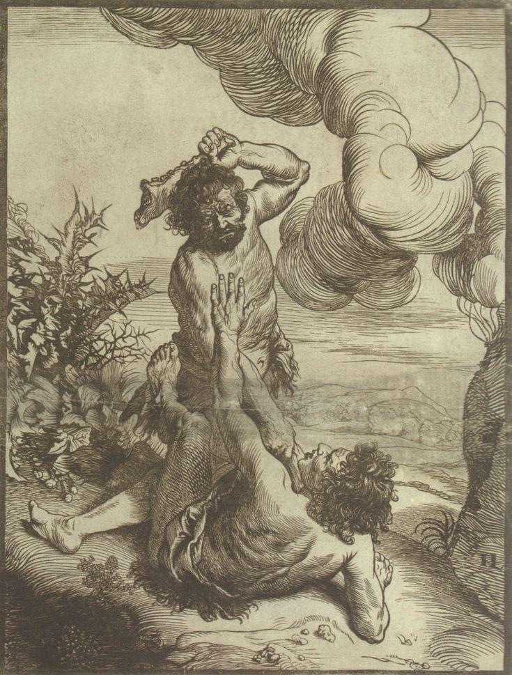 Jan Lievens: Cain kills Abel