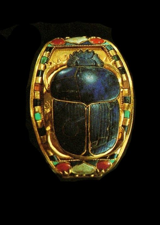 "Tutankhamun's bracelet ~ Miks' Pics ""Ancient Egypt"" board @ http://www.pinterest.com/msmgish/ancient-egypt/"